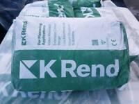 K Rend silicone plaster
