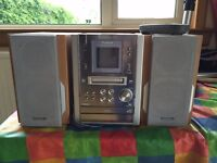 Panasonic Mini Disc/CD/Tape Stereo Player System