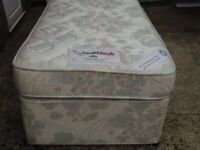 Single bed with mattress good clean condition