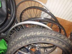 2 sets 26''bike wheels
