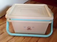 Nappy Storage Box & matching step