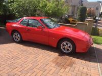 Porsche 944 2.5, 1987, Gleaming Red with Leather interior, Much recent work done