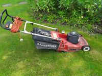 """Mountfield Empress 16"""" electric lawn mower"""