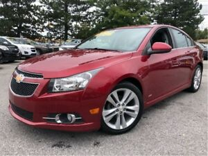 2014 Chevrolet Cruze 2LT RS SUNROOF LEATHER MAGS