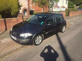 2006 Renault megane 1.5 dci 117k £895