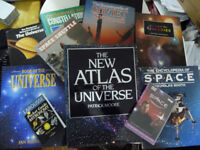 Space Joblot: 9 books and 1 BBC DVD Joblot for £10