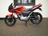honda cbf 125cc 2010 only 13000 miles hpi clear
