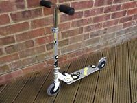 Zinc Orb In-Line Kids Scooter - Foldable With Adjustable Handlebars, Excellent Condition