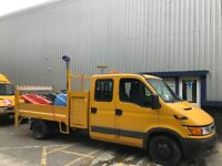 IVECO CREW CAB , TOOL BOX , TIPPER ,WITH TAIL LIFT , ALL IN FULL WORKING ORDER NICE TRUCK