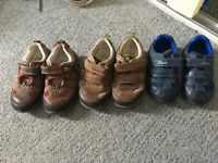 3 pairs of boys clarks shoes only £5