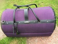 Rare Samsonite Duffel case from the rare black label collectable vintage collection.