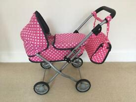 Molly Dolly Toy Pram