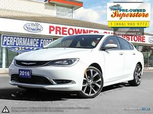 2016 Chrysler 200 C ***SUNROOF-LEATHER-NAV***