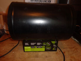 uvonair cd1000-2 ozone machine [kills smells]