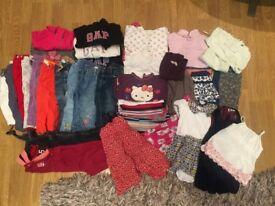 REDUCED - Massive girl bundle (18-24 months) - Lots of brands