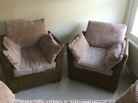Conservatory furniture suite for sale