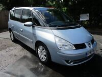 2007 57 RENAULT ESPACE 2.0 TECH RUN 16V 7 SEATER MPV FULL MOT 1 OWNER FROM NEW 6-SPEED SH PX SWAPS