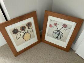 2 Richard Spare framed pictures