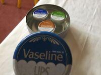 Vaseline in a round £4