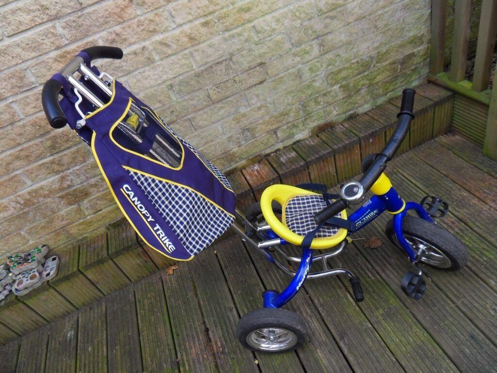 Kids Huffy Canopy Trike Bike