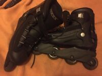 roces men's aggressive inline roller skate size 10