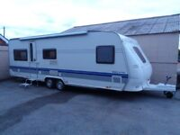 hobby 650 umfe prestige 2007 touring caravan