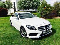 Mercedes Benz Amg Line 2015 Auto Diesel Full service history & 2 keys & Tax cost £30