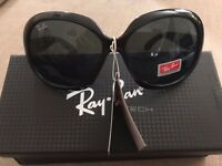 Ray Ban Jackie Ohh II Shiny Black Sunglasses