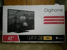 Brand new digihome 42 freeview tv