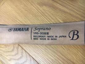 Yamaha Soprano recorder YRS-302B III