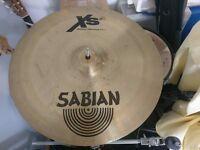 "SABIAN XS20 16"" Medium Thin Crash Cymbal - natural finish"