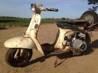 gilera g50 t scooter - spares or repairs - RARE PROJECT