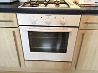 Fan electric oven & gas 4 burner hob