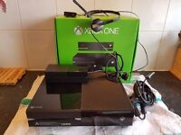 xbox one with kinect controller headset etc boxed as well
