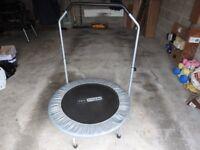 Mini trampoline for jogging