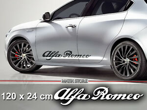 alfa romeo logo auto aufkleber vinyl sticker 147 156 159. Black Bedroom Furniture Sets. Home Design Ideas