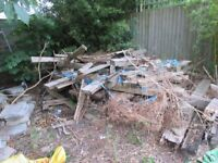 Softwood timber - scrap for firewood