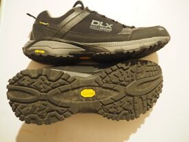 Hiking trainers / walking shoes- almost as new, waterproof, men's size 10 Goretex-type