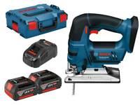 Bosch 18v jigsaw with 2, 5amp batterys