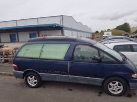 Toyota Lucida in blue full moon roof 8 seater twin sunroof power steering cd/radio