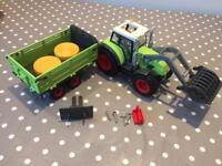 Playmobil 5121 Tractor with Trailer
