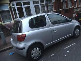 Low millage Toyota Yaris 1 Ltr , very good condition for sell