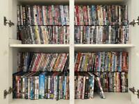 Large DVD bundle, over 350