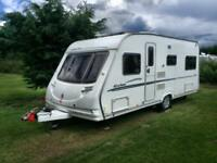 2007 Sterling Eccles Jade Caravan, 4 berth withfixed twin bead