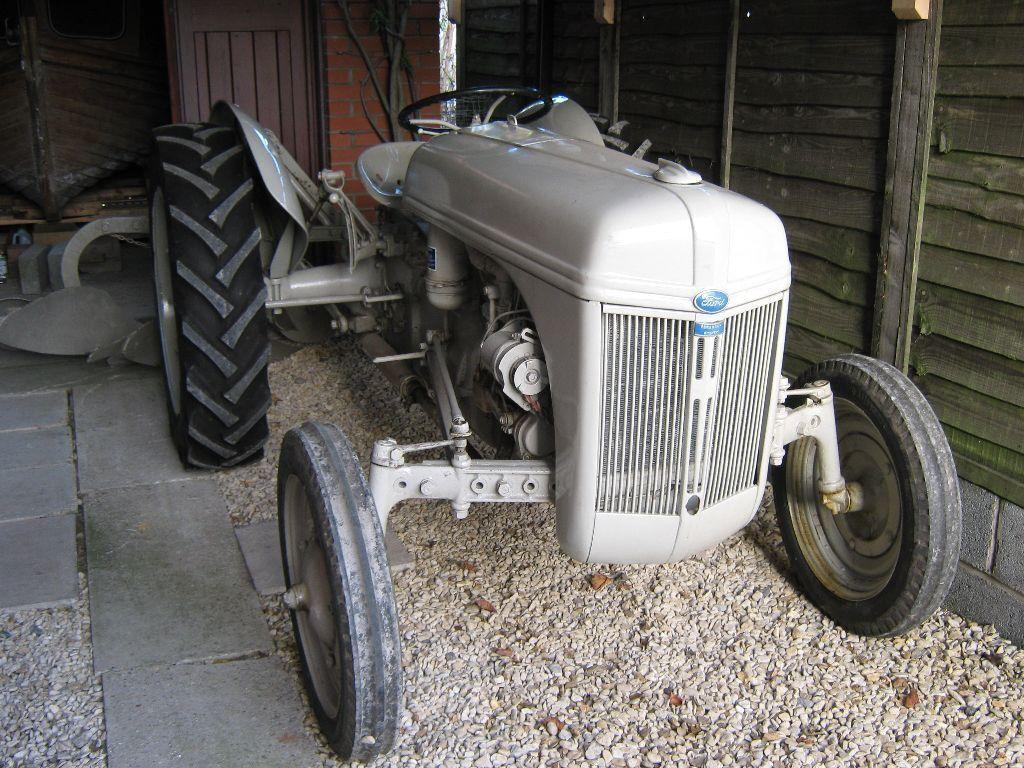 Ford Ferguson Tractor : Ford ferguson n tractor and plough for sale