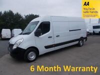 Renault Master 3.5T FWD 2.3 LM Dci 125 Business*12 MONTH MOT**Full Service History*Lease Co Direct*
