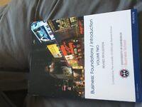 Edinburgh University Business foundations text book