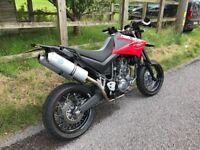 Yamaha XT 660 X R Leo Vince X3 exhausts