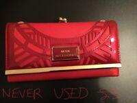 Beautiful Red Purse - Brand New!