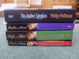 Philip Pullman Books, Amber Spyglass&Sally Lockhart Series